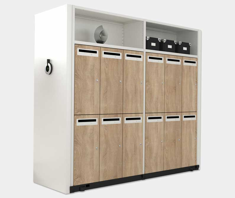 Compactus Dynamic 2 XT Lockers
